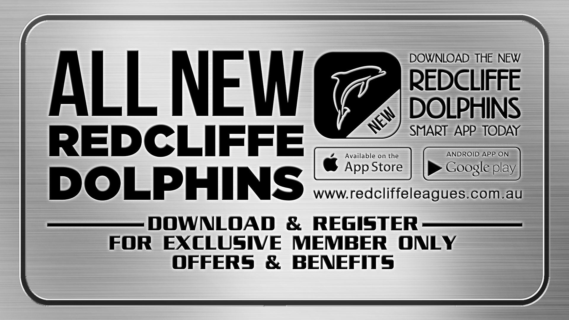 NEW Redcliffe Dolphins App TVW